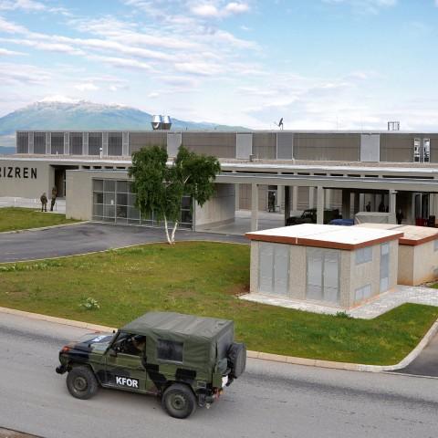 Bau 1 - Neubau eines Wirtschaftsgebäudes mit Lebensmittelumschlagstelle KFOR Feldlager Prizren, Kosovo